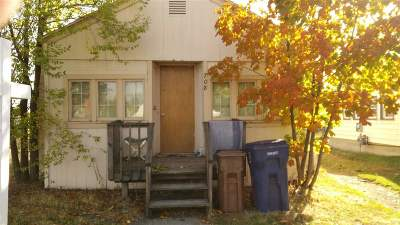 Spokane WA Single Family Home New: $76,000