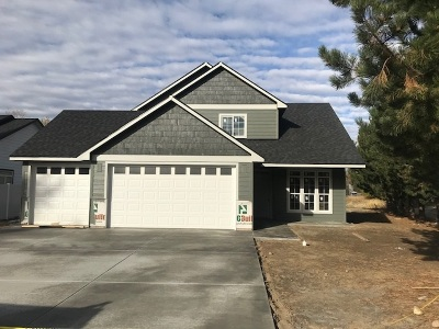 spokane Single Family Home New: 11401 E Sundown Dr