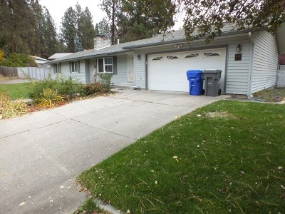 Spokane Valley Single Family Home For Sale: 12522 E 24th