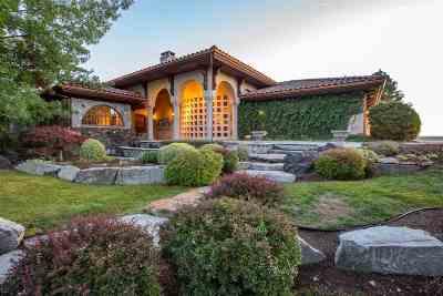 Spokane County Single Family Home For Sale: 7403 N Five Mile Rd