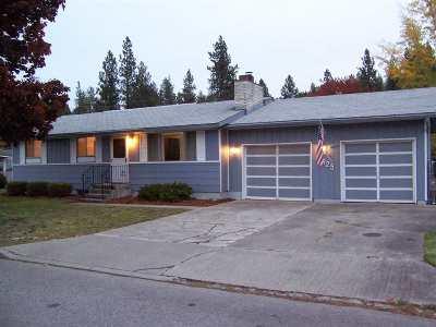 Spokane Single Family Home Chg Price: 825 S Edgerton Rd