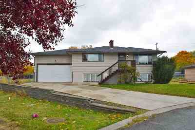 Spokane Valley Single Family Home Ctg-Inspection: 1121 S Joyce Ln