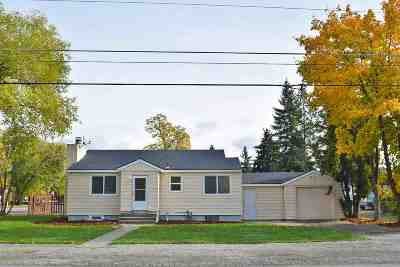 Spokane Valley Single Family Home For Sale: 8306 E Knox Rd