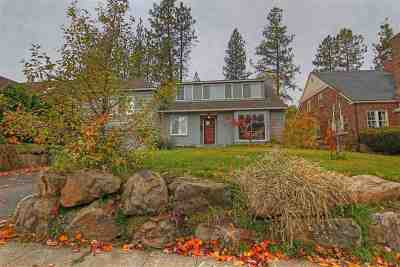 Spokane, Spokane Valley Single Family Home For Sale: 2630 S Arthur St