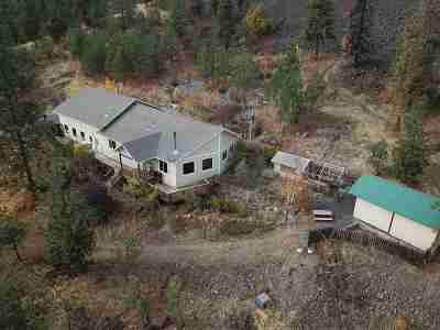 Spokane County, Stevens County Single Family Home Ctg-Inspection: 14810 W Coulee Hite Rd