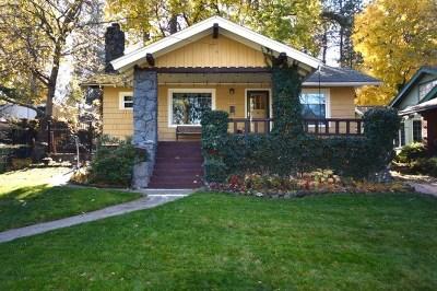 Spokane Single Family Home For Sale: 903 W 16th Ave