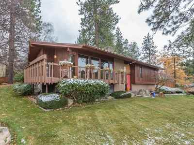 Spokane Valley Single Family Home For Sale: 7721 E Skyline Dr