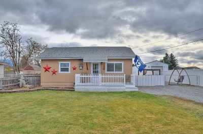Spokane Valley Single Family Home For Sale: 17418 E Alki Ave