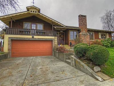 Spokane Single Family Home For Sale: 1012 S Buena Vista Dr