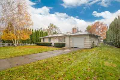 Spokane Valley Single Family Home For Sale: 15218 E Cataldo Ave