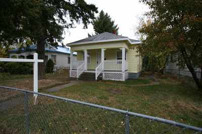 Spokane Single Family Home For Sale: 2307 E 4th St