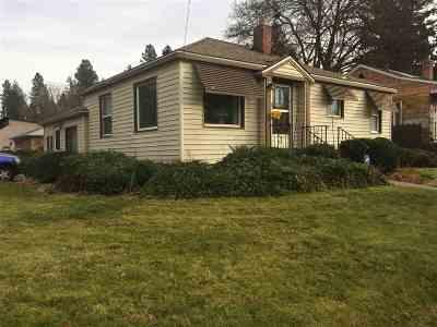 Spokane Single Family Home For Sale: 803 S Freya St