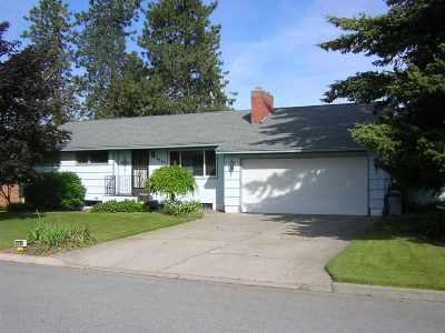 Spokane Single Family Home For Sale: 7223 N Excell Dr