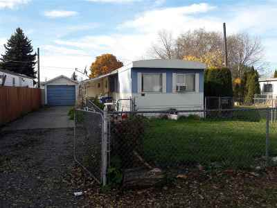 Spokane Valley Mobile Home For Sale: 903 N Bowman Ave