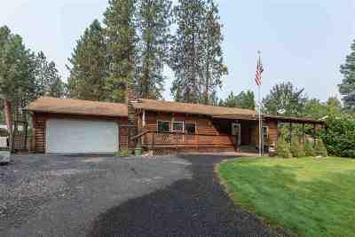 Spokane County, Stevens County Single Family Home New: 17603 N West Shore Rd