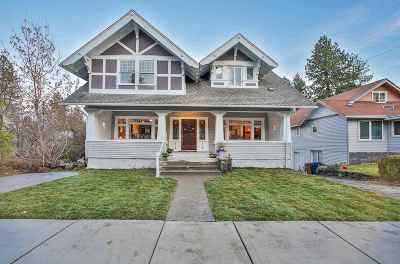 Spokane Single Family Home New: 1307 S Grove St