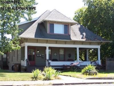 Spokane Multi Family Home New: W Kiernan