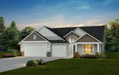 Spokane Valley Single Family Home New: 140x S Hodges St