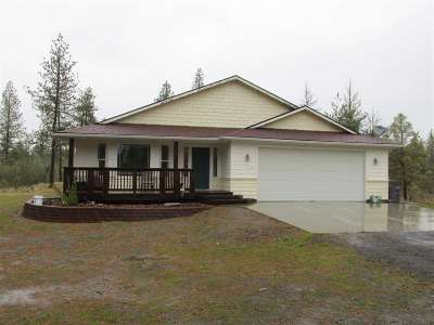 Spokane County, Stevens County Single Family Home New: 20102 S Malloy Prairie Rd