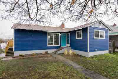 Spokane Single Family Home New: 3824 E Cleveland Ave