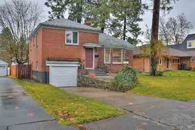 Spokane Single Family Home For Sale: 1114 W 28th Ave