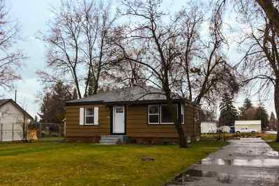 Spokane Valley Single Family Home Ctg-Inspection: 402 N Locust Rd