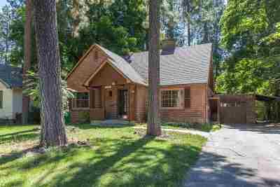 spokane Single Family Home For Sale: 938 E 16th Ave