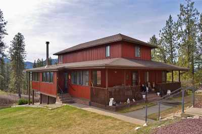 Single Family Home For Sale: 627 Highland Loop Rd