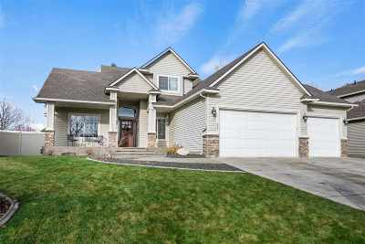 Spokane Valley Single Family Home Ctg-Inspection: 602 S Shelley Lake Ln