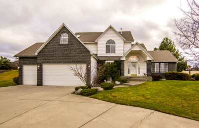 Spokane Valley Single Family Home For Sale: 2201 S Steen Rd