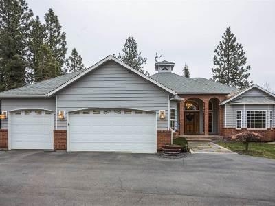 Spokane Single Family Home For Sale: 8418 N Palmer Rd