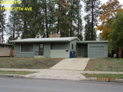 Single Family Home Ctg-Short Sale: 1703 E 37th Ave