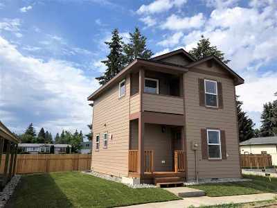 Spokane Single Family Home For Sale: 7125 N Crestline St #Unit 2
