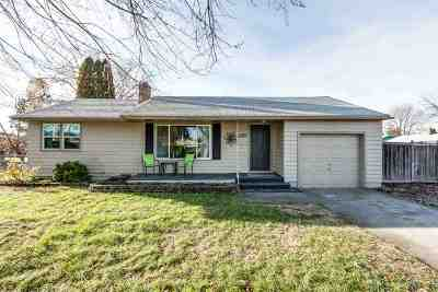 Spokane Valley Single Family Home New: 205 N Bolivar Rd