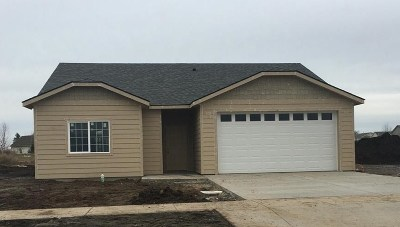 spokane Single Family Home New: 8706 N Cannon St