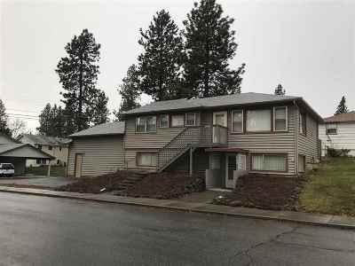 spokane Single Family Home New: 3030/3028 E 33rd Ave