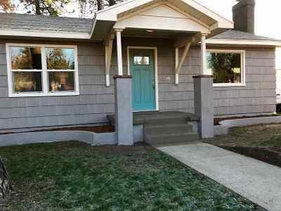 Spokane Single Family Home Ctg-Inspection: 3227 W Princeton Ave