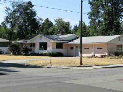 Spokane Valley Single Family Home Ctg-Short Sale: 1606 S Virginia Rd