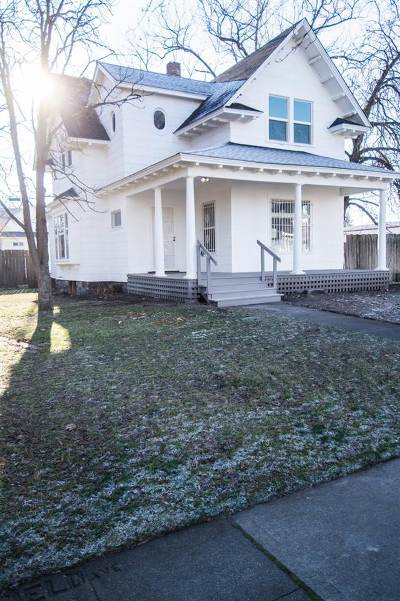 Spokane Single Family Home Ctg-Inspection: 901 W Mansfield Ave