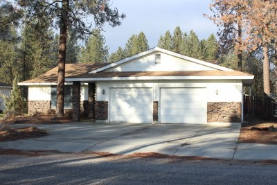 Nine Mile Falls Single Family Home For Sale: 6806 W Johannsen Ave