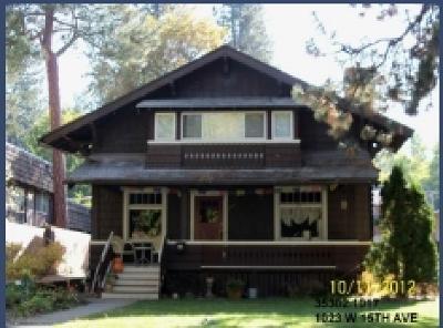 Spokane Single Family Home Ctg-Inspection: 1023 W 15 Ave