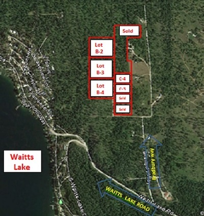 Valley Residential Lots & Land For Sale: 000 Lot B-4 Waitts Lake - Bradbury Way Way