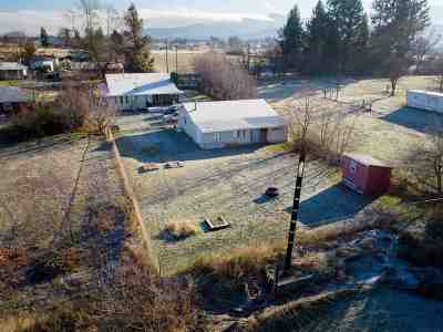 Otis Orchards Single Family Home New: 5125 N Malvern Rd