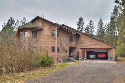 Nine Mile Falls Single Family Home For Sale: 11801 N Nine Mile Rd