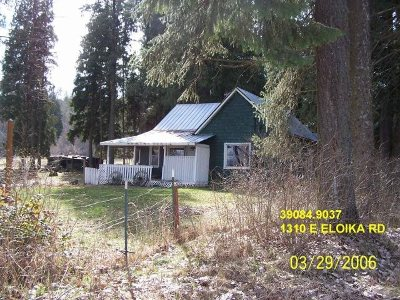 Spokane County, Stevens County Single Family Home For Sale: 1310 E Eloika Rd #Horse Pr