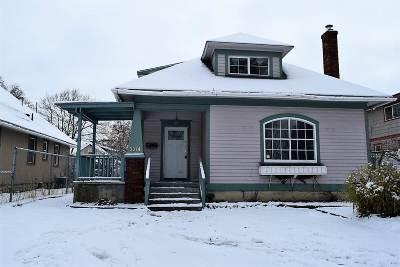 Spokane Single Family Home For Sale: 2214 N Columbus St