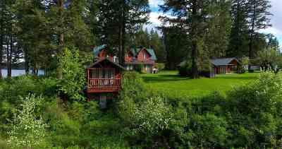 Spokane County, Stevens County Single Family Home For Sale: 3869 N Deer Lake Rd