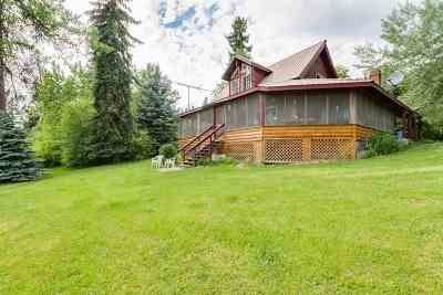 Cusick Single Family Home For Sale: 408171 Highway 20