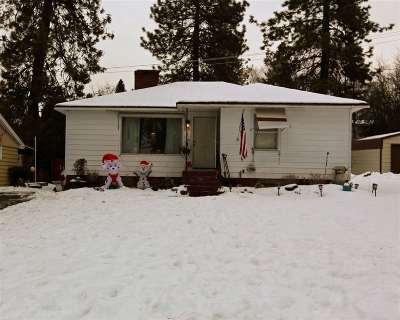 Spokane Single Family Home For Sale: 3124 W Hoffman Ave