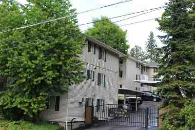 Spokane County Condo/Townhouse For Sale: 837 S Cowley St #302